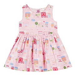 bluezoo - Girl's pink street print dress
