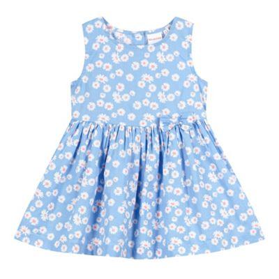 bluezoo Babies blue daisy print dress - . -