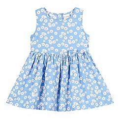 bluezoo - Babies blue daisy print dress