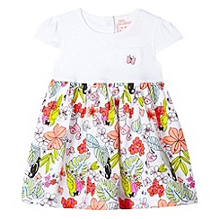 bluezoo - Babies white jungle print dress