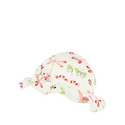 bluezoo - Babies off white bug butterfly hat