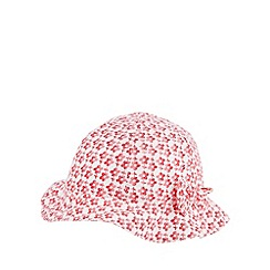 bluezoo - Babies red floral hat