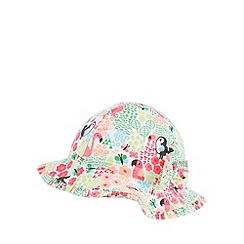 bluezoo - Babies pink tropical jungle hat