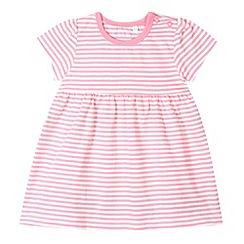 bluezoo - Babies pink striped jersey dress