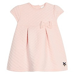 J by Jasper Conran - Designer girl's pink quilted dress