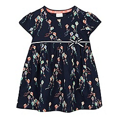 J by Jasper Conran - Designer babies navy kite print dress