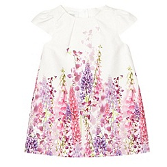 RJR.John Rocha - Designer babies white digital floral dress