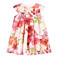 RJR.John Rocha - Designer babies pink oil painting floral dress