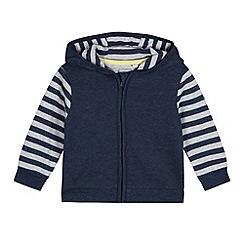 bluezoo - Babies navy bear hoodie