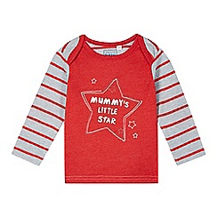 bluezoo - Babies red 'Little Star' top