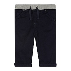bluezoo - Babies navy woven trousers
