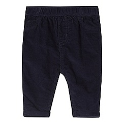 bluezoo - Baby boys' blue corduroy trousers