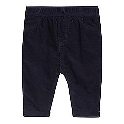 bluezoo - Baby boys' blue corduroy trousers