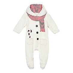 bluezoo - Christmas snowman sleepsuit