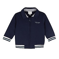 RJR.John Rocha - Designer babies navy quilted sweat jacket