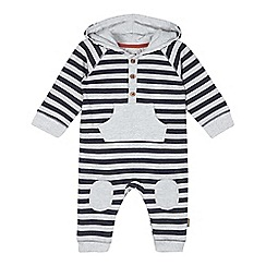 RJR.John Rocha - Designer boy's light grey striped romper suit
