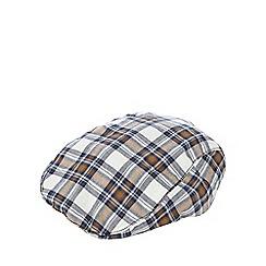RJR.John Rocha - Baby boys' blue check flat cap