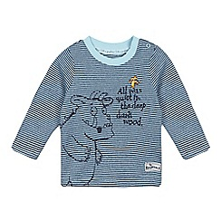 The Gruffalo - Baby boys' blue applique top