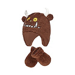 The Gruffalo - Brown fleece hat and mittens