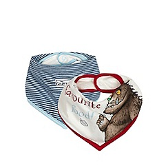 The Gruffalo - Pack of two 'My favourite food' bibs