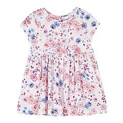 bluezoo - Babies white floral print dress