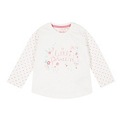 bluezoo - Babies off white 'little princess' top