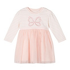 bluezoo - Babies pink butterfly tutu dress