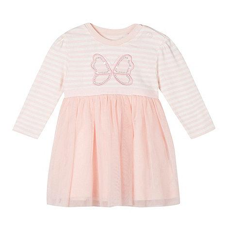 bluezoo - Babies pink butterfly tutu dress