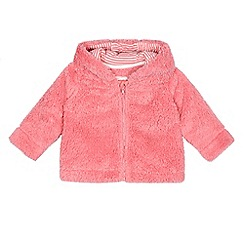 bluezoo - Babies light pink fleece jacket