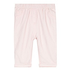 bluezoo - Baby girls' pink cord trousers