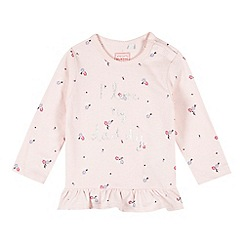 bluezoo - Baby girls' pink 'I Love My Daddy' top