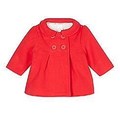 J by Jasper Conran - Designer babies red fleece coat