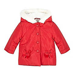 RJR.John Rocha - Baby girls' red padded coat