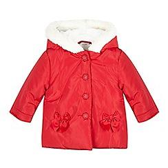RJR.John Rocha - Baby girls' red padded coat