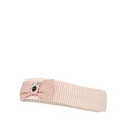 J by Jasper Conran - Baby girls' pink bow headband