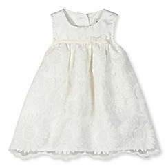 RJR.John Rocha - Designer girl's white sunflower dress