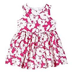RJR.John Rocha - Designer babies pink floral print dress