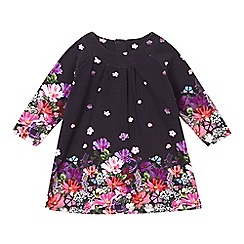 RJR.John Rocha - Designer babies navy digital floral dress