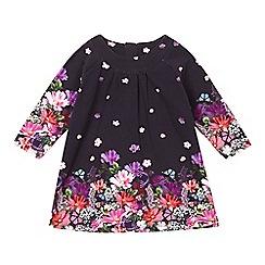 RJR.John Rocha - Designer babies navy digital floral dress