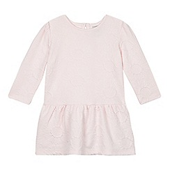 RJR.John Rocha - Designer babies pink sunflower jersey dress