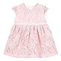RJR.John Rocha - Baby girls' pink rosebud dress