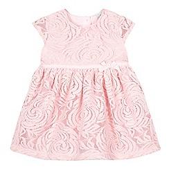 RJR.John Rocha - Baby girls' pink rosebud dress