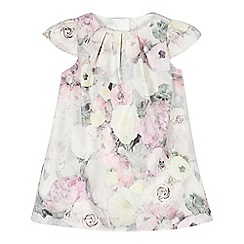 RJR.John Rocha - Baby girls' light pink jacquard rose dress