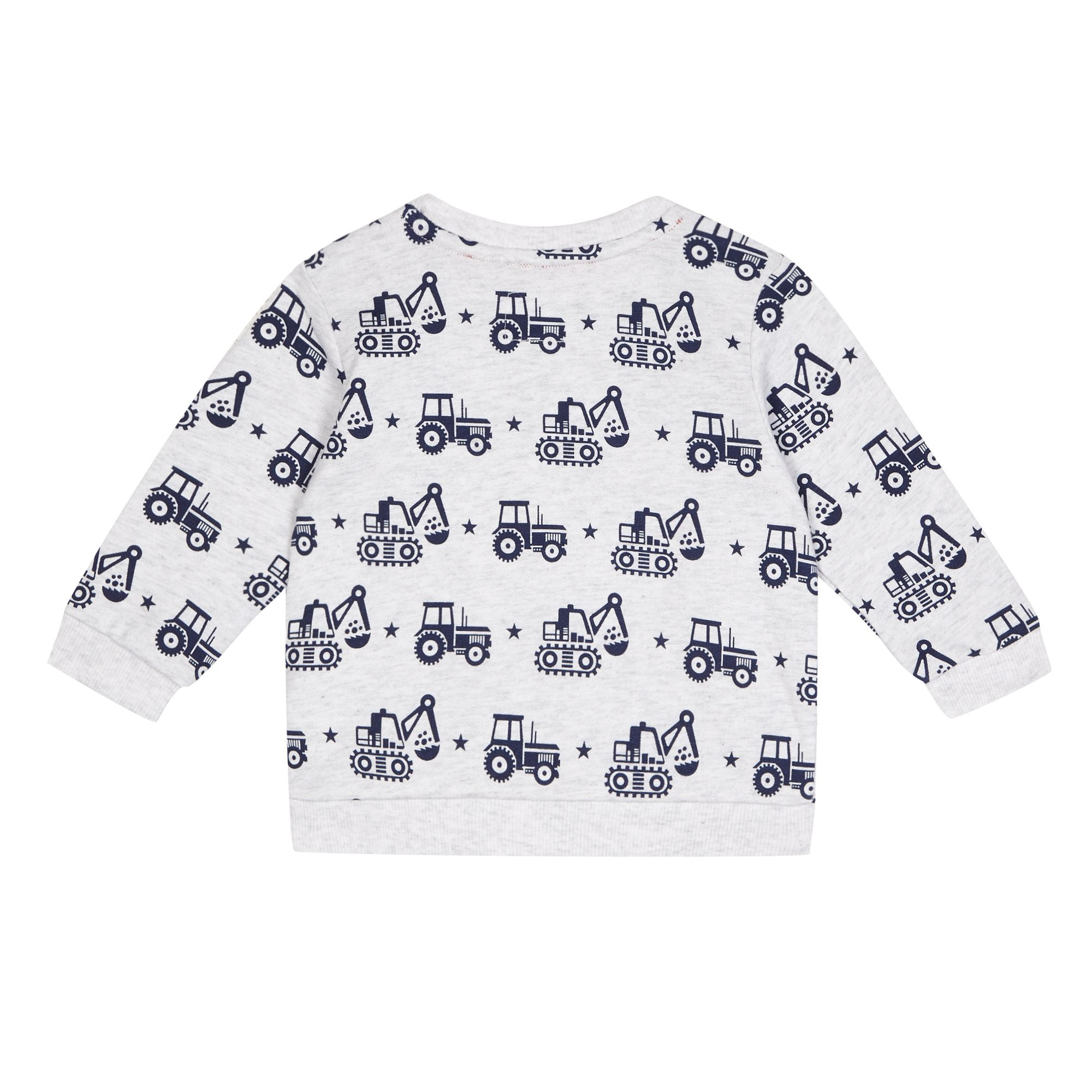 Baby Boy Gifts Debenhams : Bluezoo kids baby boys grey tractor sweater from