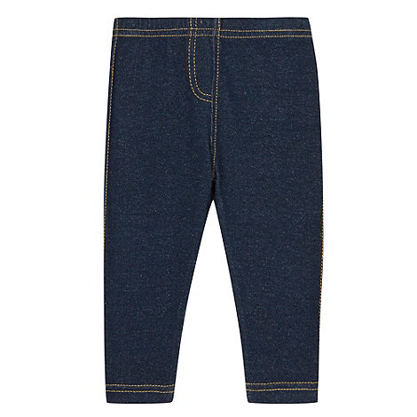 bluezoo - Babies dark blue stretch jeggings