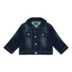 bluezoo - Baby boys' blue denim jacket