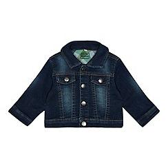 bluezoo - Baby boys' blue denim jacket