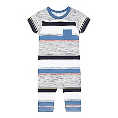 J by Jasper Conran - Babies' grey striped romper