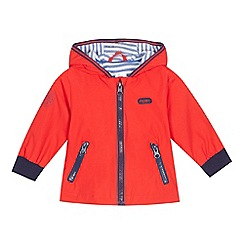 J by Jasper Conran - Baby boys' red fleece lined coat