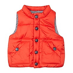 J by Jasper Conran - Baby boys' red padded gilet